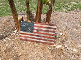 Pallet American Flag Buy A Hand Crafted Reclaimed American Flag In Pallet Wood Made