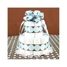 make a homemade diaper cake with cloth diapers u0026 organic baby