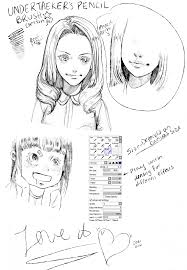 paint tool sai pencil brush no download by undertaeker sai