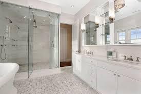 white marble bathroom ideas shower for 2 transitional bathroom carole reed design
