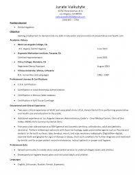 dental hygiene resume exles dental hygienistsume objectives exle hygiene objective exles