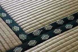 tatami japanese straw floor mat style