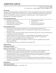 Resume Sample Logistics by Professional Transportation Professional Templates To Showcase