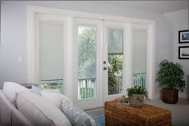Patio French Doors With Blinds by Patio French Doors With Blinds Inside