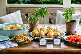 Brunch Setup Jenny Steffens Hobick Party Food Easy Menu Ideas U0026 Recipes For