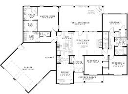 Home Plans With Basement Floor Plans 44 Best Dual Master Suites House Plans Images On Pinterest