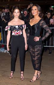catherine zeta jones catherine zeta jones brings her daughter carys to dolce gabbana