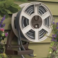 awesome garden hose reel wall mount commercial grade wall mount