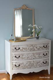 How To Decorate A Bedroom Dresser How To Paint A Dresser In 10 Easy Steps Thrift Diving Blog