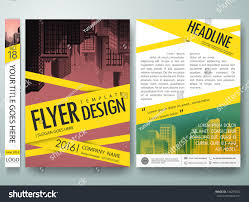 flyers design template vector cover book stock vector 434295352