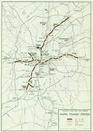 Marta Subway Map by Map Of The Original Marta Rail Busway System Approved By Voters In