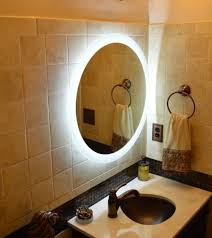Round Bathroom Mirror With Shelf by Gorgeous Round Bathroom Wall Mirrors Silver Bathroom Mirror With