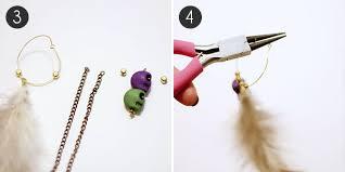 how to make feather earrings with jewelry diy how to make feather earrings more