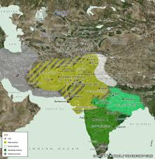 map of be map of central asia india c 50 bc