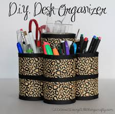 How To Make Desk Organizers by I Love Doing All Things Crafty Diy Desk Organizer
