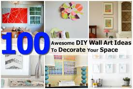 Bathroom Wall Art Ideas Decor 100 Awesome Diy Wall Art Ideas To Decorate Your Space
