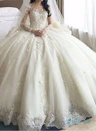 poofy wedding dresses dreamy cathedral princess gown wedding dress