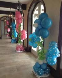 party people event decorating company baby reveal party lake
