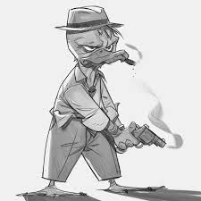 p cohen sketch blog howard the duck