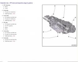 Audi Q5 8 Speed Tiptronic - q5 transmission fill and drain plug location audiworld forums