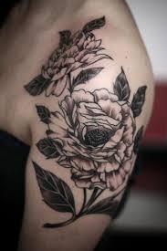 shoulder tattooo 51 marvelous vintage shoulder flower tattoos