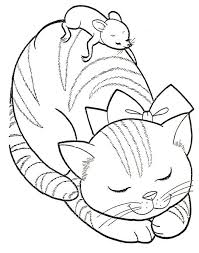 106 dog cat coloring images drawings