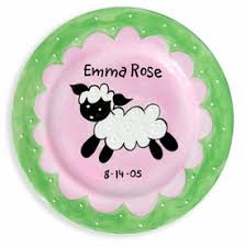 personalized baby plate personalized baby gift plates baby keepsake gifts