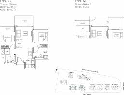 Sqm To Sqft | the glades condo floor plan 2br suite b2 63 sqm 678 sqft b2