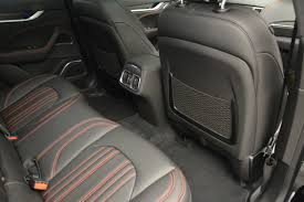 maserati levante interior back seat 2017 maserati levante stock w334 for sale near westport ct ct