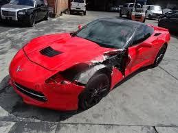 damaged corvettes for sale 2014 chevrolet corvette stingray z51 damaged salvage project for sale