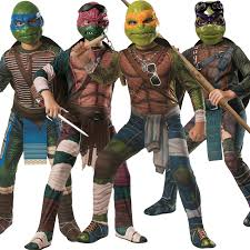 Ninja Halloween Costume Kids Child Teenage Mutant Ninja Turtles Tmnt Movie Fancy Dress Costume