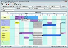 Excel 2010 Project Plan Template Production Planning Gantt Chart