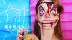 alice madness returns insane asylum child makeup tutorial youtube