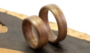 wooden wedding bands wood wedding bands etsy eye candy