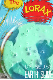 earth slime lorax activity for kids seuss science and earth day