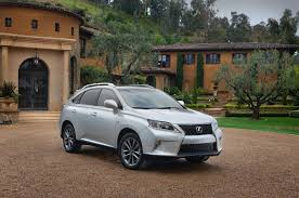 sporty lexus 4 door 2013 lexus rx 350 f sport first drive automobile magazine