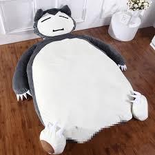 pokemon go pikachu snorlax huge sofa bed beanbag