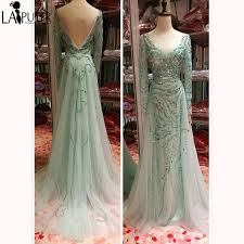online boutiques luxury beaded evening dress gala sheer sleeves robe