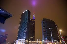 unicredit sede generale la torre unicredit con i colori della francia corriere it