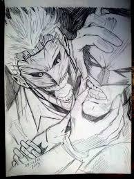 joker batman sketch by jey2dworld on deviantart