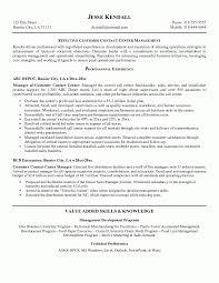 resume template customer service customer service representative