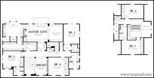 floor plans with in suite house plans with detached in suite strikingly design