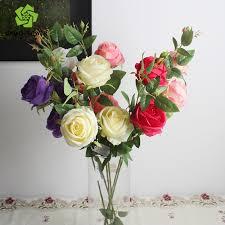 fleur artificielle mariage supply décorative artificielle fleur boutique et fleur