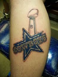 staggering dallas cowboys tattoos for real fans