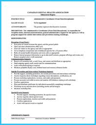 resume template administrative coordinator iii salary wizard administrative coordinator job description template health unit