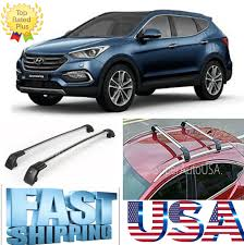 top roof rack for hyundai santa fe sport 2013 2017 baggage