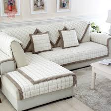 Grey Slipcover Sofa by Furniture Home Font B White B Font Grey Plaid Font B Sofa B Font