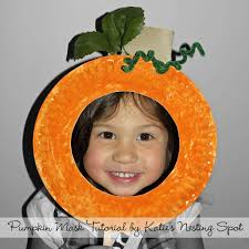 muffin tin mom pumpkin paper plate craft for kids classroom