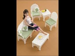 plastic canvas doll furniture patterns youtube