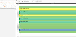 customizing colors on the appointments u0027 schedule
